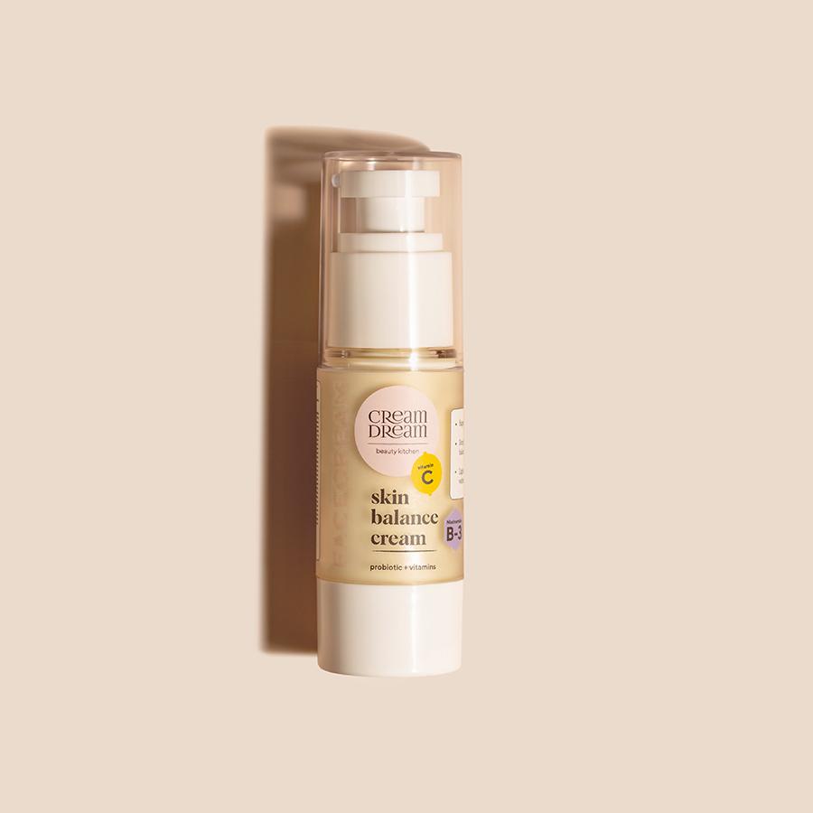 """Крем для комбінованої шкіри з лактобактеріями і вітамінами """"Skin balance cream"""""""